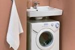варианты размещения стиральных машин
