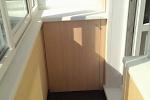 Внутренняя отделка балкона или лоджии