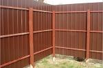 Строим забор для дачи своими руками