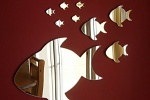 Зеркало дизайне интерьера