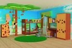 шкафы купе на заказ и столы-трансформеры для детской комнаты